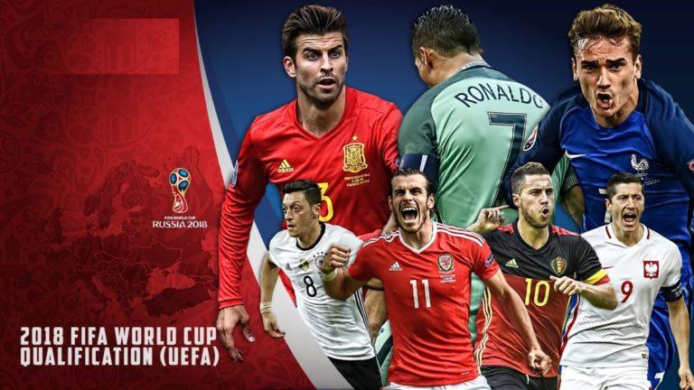 2018 FIFA World Cup qualification – UEFA Group E