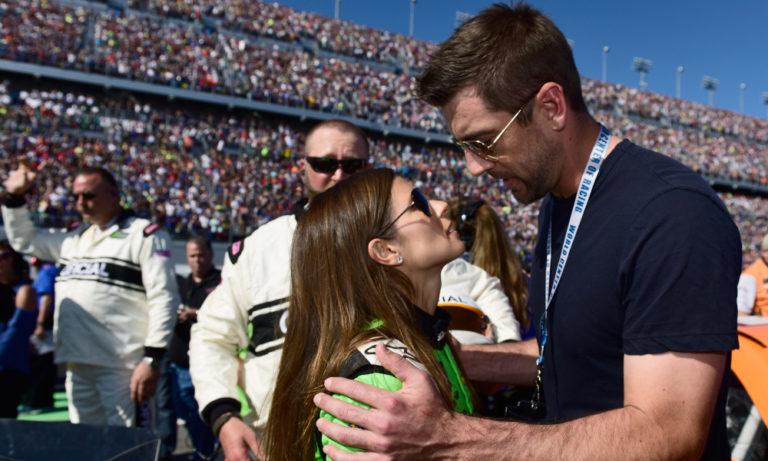 Aaron Rodgers his girlfriend Danica Patrick Meet the sporting power couple.