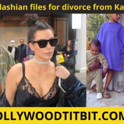 Kim Kardashian files for divorce from Kanye West